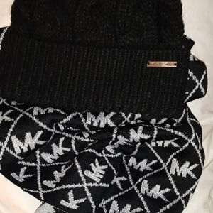 Michael Kors scarves and hats